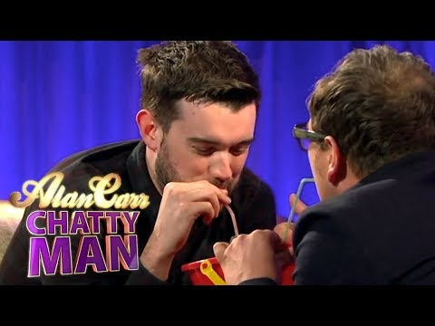 Jack Whitehall Does The Alan Carr Gin & Tonic Challenge | Alan Carr Chatty Man
