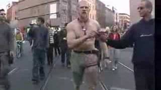 Neonazi Freak Dancing His Ass Off At SEX PARADE