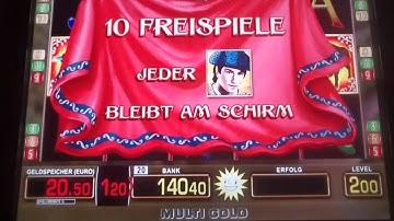 Merkur automat let's play el torero 2 Euro fach freispiele ❤️