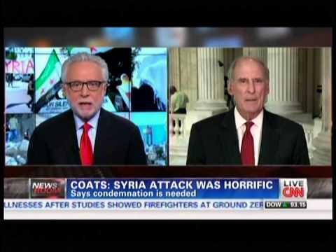 CNN's Wolf Blitzer interviews Sen. Dan Coats about Syria
