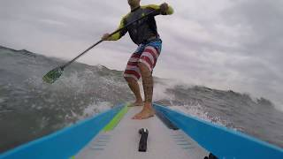NSP Sonic : Andrew N Dima surfing his raceboard!