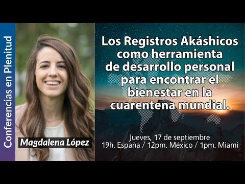 Conferencias en Plenitud   Magdalena López