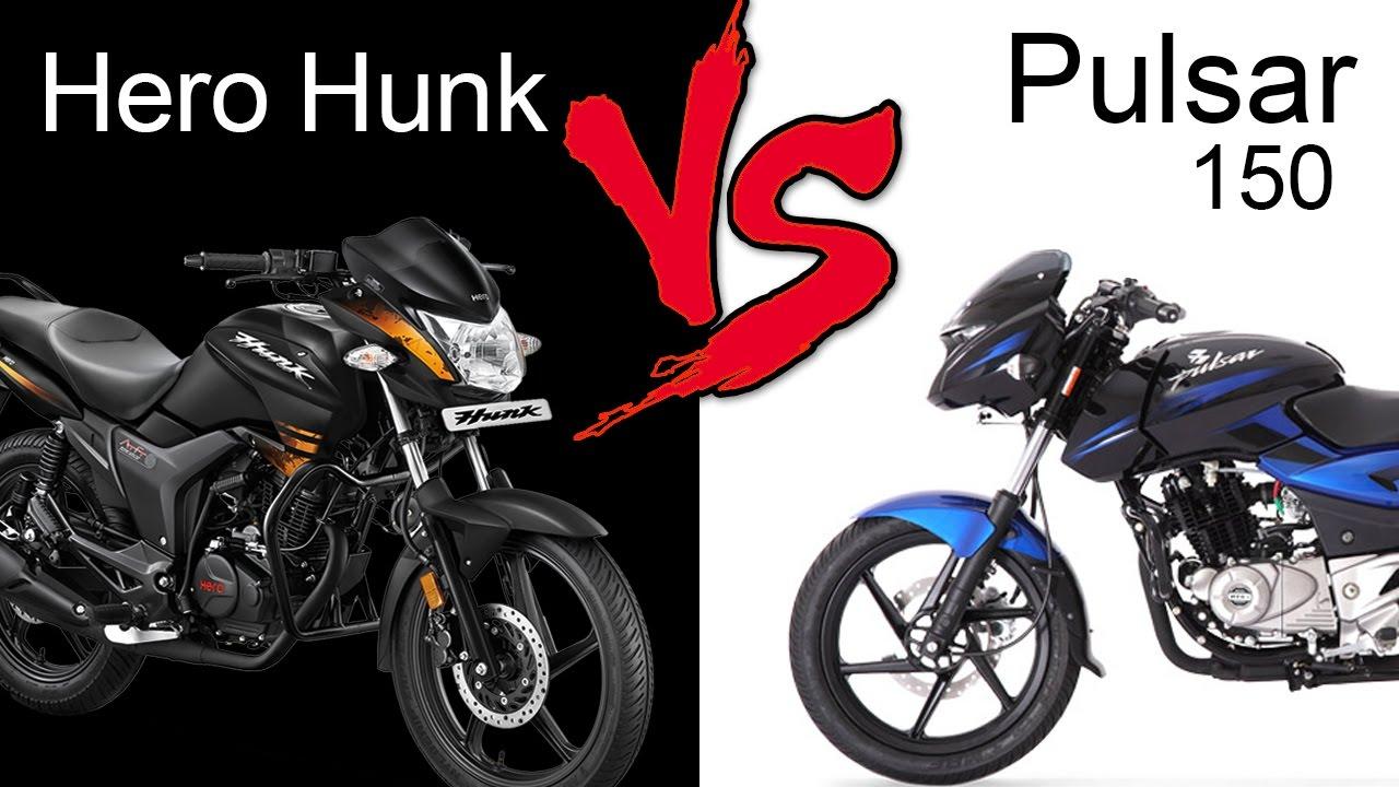 Hero Hunk Vs Bajaj Pulsar 150 Dtsi Comparison Review Extended