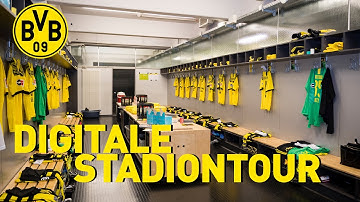 All access at the Signal Iduna Park | Digital Stadium Tour | Dressing Room, Pitch & more