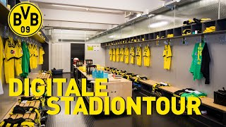 All access at the Signal Iduna Park | Digital Stadium Tour | Dressing Room, Pitch & more