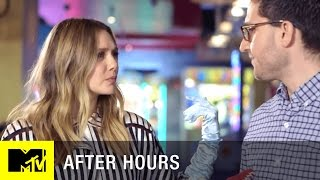 Captain America's Elizabeth Olsen Has Terrifying Hands | MTV After Hours w/ Josh Horowitz