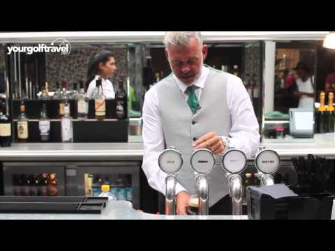 How to pour the perfect pint of Guinness - with Your Golf Travel ambassador Darren Clarke