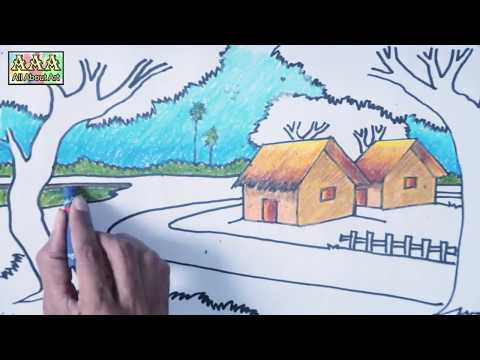 Download How To Draw A River Ncert Cbse Icse Class 3 Drawing Lessons