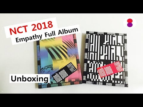 NCT 2018 Empathy full album unboxing 엔시티 エヌシーティー
