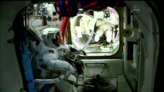 Expedition 41   US Spacewalk EVA 27   October 7   Part 1