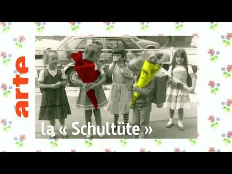 l'objet : la « Schultüte »  Karambolage  ARTE