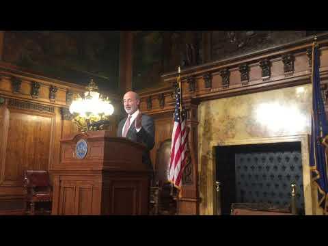 "Gov. Tom Wolf on Pennsylvania budget: ""I've had enough games."""