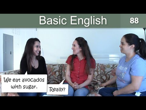 Lesson 88 ?????Basic English with Jennifer Vocabulary ??Review: Colors & Foods ????