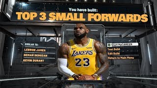 TOP 3 SMALL FORWARD BUILDS *PATCH 10* IN NBA 2K20! MOST OVERPOWERED SMALL FORWARD BUILDS IN 2K20!