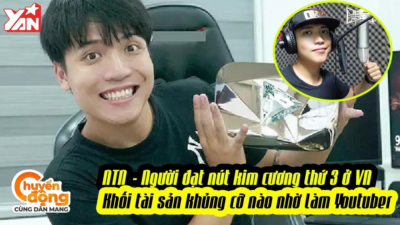 Nờ Tờ Nờ - Người đạt nút kim cương thứ 3 của Việt Nam: Khối tài sản khủng cỡ nào nhờ làm YouTuber