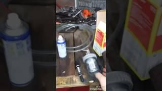Установка дополнительного фильтра грубой очистки(сепоратор) прадо 120 дизель 1 кд)