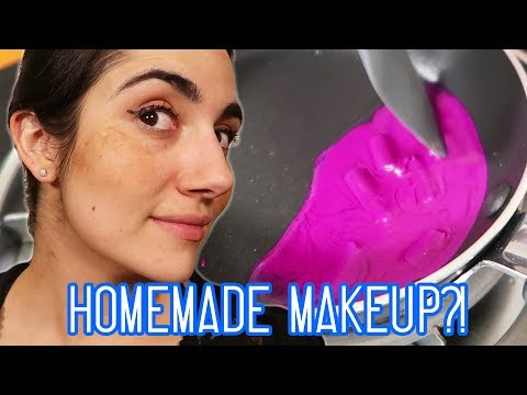 Full Face Of DIY Makeup Challenge (feat. Natalies Outlet)