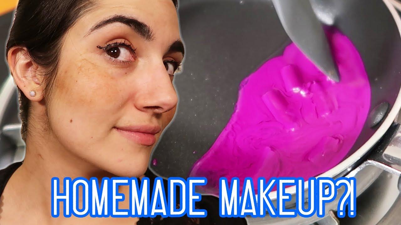 full face of diy makeup challenge feat natalies outlet youtube. Black Bedroom Furniture Sets. Home Design Ideas