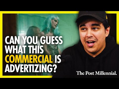 GET WOKE GO BROKE: Can you guess what this commercial is advertizing?