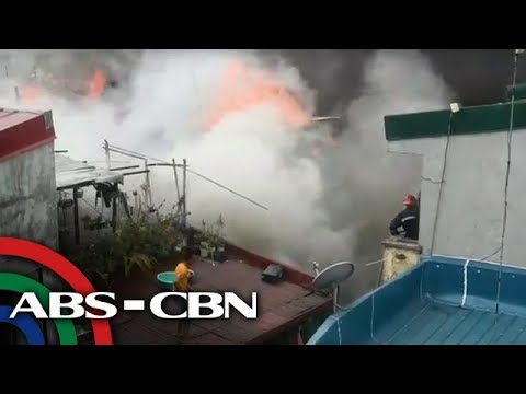 Fire guts residential area in Quezon City