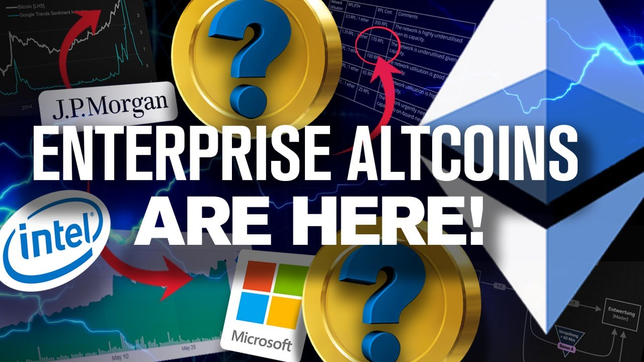 Enterprise Ethereum is HERE! The Two Coins to Dominate!? 5