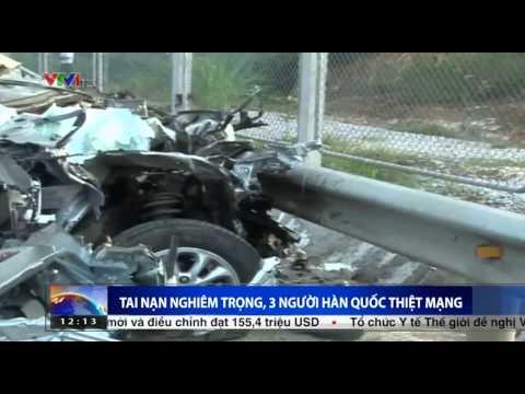 Vụ tai nạn kinh hoàng trên cao tốc Hà Nội – Thái Nguyên, 3 người Hàn Quốc tử vong