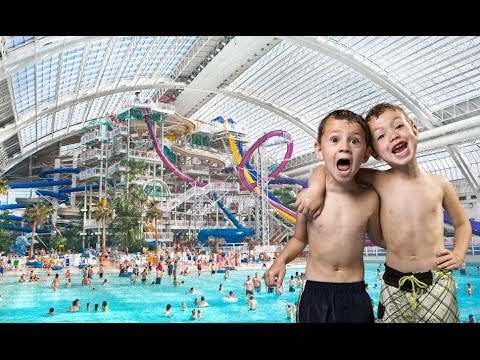 World Waterpark at West Edmonton Mall in HD: a Video Tour