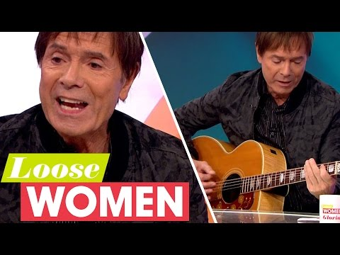 Sir Cliff Richard Plays 'Move It' Live On The Show!   Loose Women