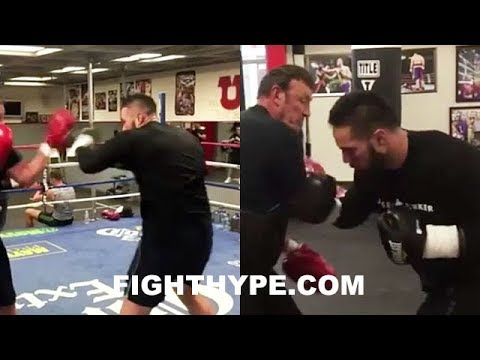 JOSEPH PARKER PERFECTING KNOCKOUT COMBO FOR ANTHONY JOSHUA; WILL FAST HANDS BE KEY TO VICTORY