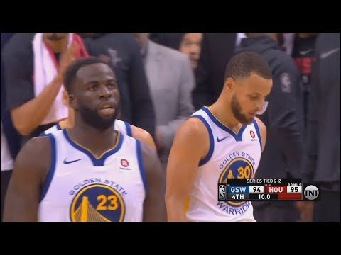 Stephen Curry And Draymond Green Choke in Final Minutes of Game 5 vs Rockets! Warriors vs Rockets