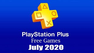 PlayStation Plus Free Games - July 2020