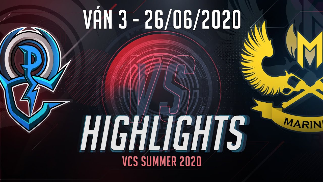 Highlights OPG vs GAM [Ván 3][VCS 2020 Mùa Hè][26.06.2020]