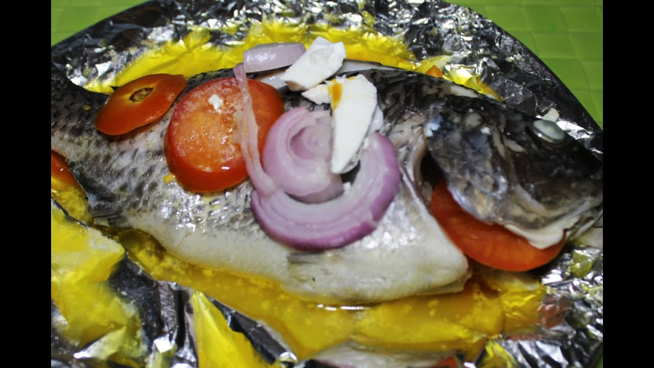 How to cook steamed tilapia recipe youtube for How to make tilapia fish