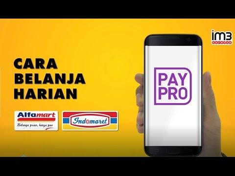 PayPro untuk Pengguna IM3 Ooredoo - Cara Belanja Harian