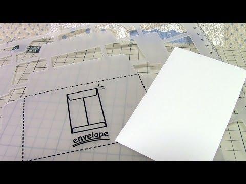 Long Type Envelope Template