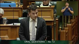 Question 12 - David Seymour to the Minister of Housing and Urban Development thumbnail