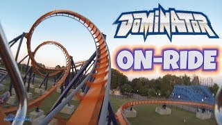 Dominator On-ride Front Seat (HD POV) Kings Dominion