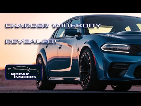 2020 Dodge Charger SRT HELLCAT Widebody and Scat Pack Widebody