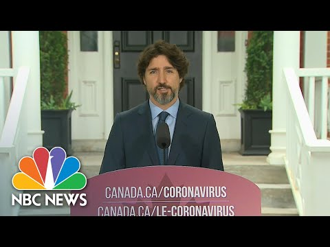 WATCH: Trudeau Pauses