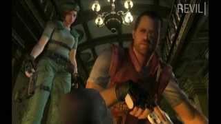 Resident Evil Remake - Blood Inside The Mansion