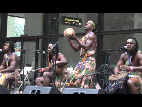 World Music Festival Chicago featuring the African Showboyz at Daley Plaza