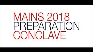 Mains 2018 Preparation Conclave : Your Next Step Towards UPSC