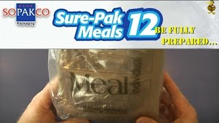 Mre Review - Surepak - Penne With Vegetable Sausage (2012)