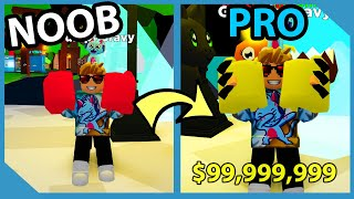 Noob To Pro! Unlocked $90,000,000 Boxing Gloves! Infinite Strength Gamepass! Roblox K.O Simulator