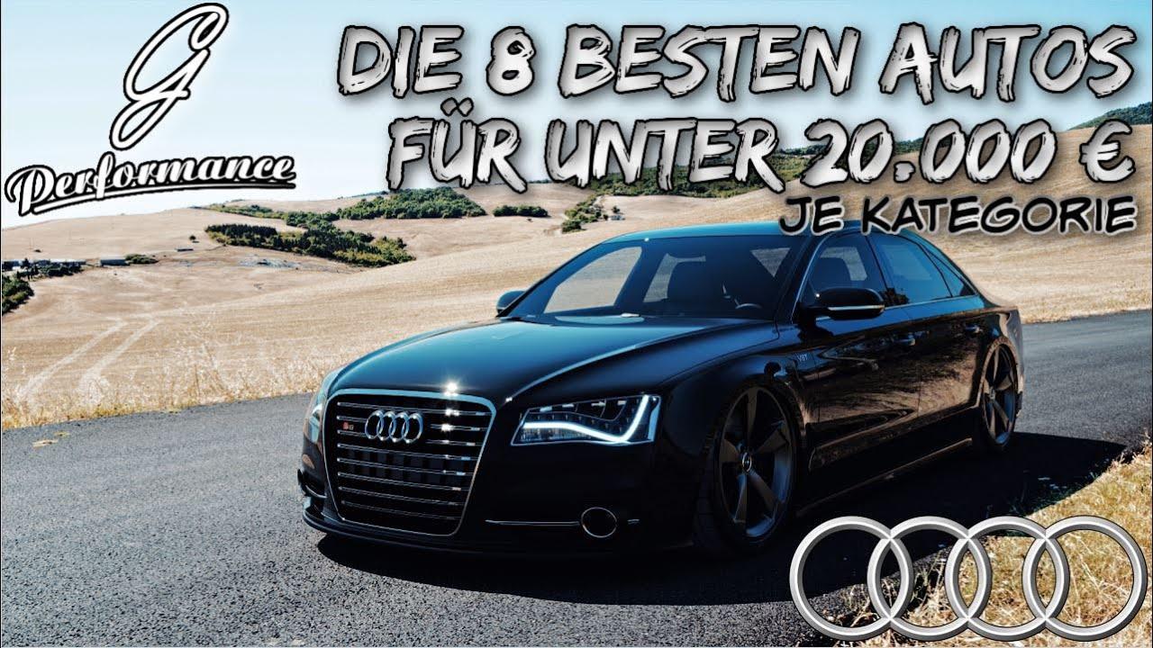 Die 8 besten AUTOS jeder Kategorie für unter 20.000 € | G Performance