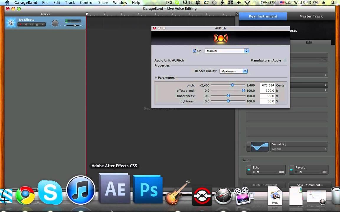 Voice Changer Skype Mac Garageband