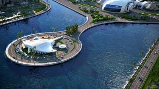 Как строится проект Khazar Islands. Baku 2015 - 2025