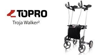 Produktvideo zu Topro Troja Walker² Unterarmgehwagen Größe X Silber