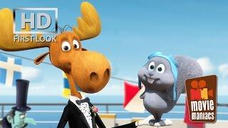 Rocky & Bullwinkle Short | FIRST LOOK clip (2014) Mr. Peabody & Sherman