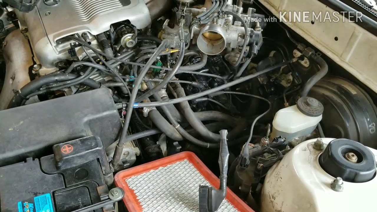 how to change your fuel filter on a toyota camry 3 0 89 90 91 92 93 94 95 96 97 98 99 [ 1280 x 720 Pixel ]